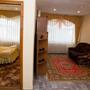 Отель Джемете, Трёхместный двухкомнатный улучшенный номер с 1 кроватью, фото 30