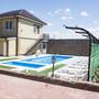 Отель Семь Ветров, Фасад с бассейном, фото 1