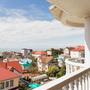 Клевер отель, Вид с балкона, фото 10