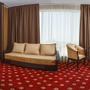 Гостиница Золотой Берег, 2х комнатный Люкс с видом на море Гостиная, фото 4