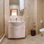Гостиница Золотой Берег, 2х комнатный Люкс с видом на море сан.узел, фото 7